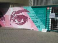 Video del grafiti al Casal de la Dona